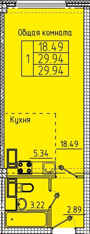 ст 29.94 кв.м